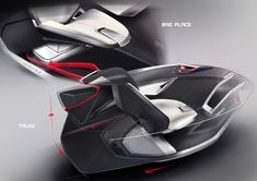SPD - Concept Car Interior Design Sketches