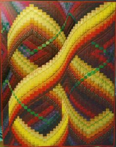 BARGELLO QUILT PC