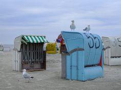 Am Strand von Norddeich - die Jungs haben alles im Griff ;)
