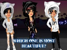 Which one is most beautiful? x