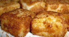 "Leche Frita is a delicious Spanish dessert, made by whisking flour, milk and sugar together, before golden frying small proportions of the mixture, and serving it up with a sugary glaze and drizzle of cinnamon powder. Literally meaning ""fried milk"" in"