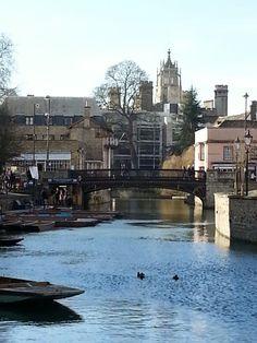 Cambridge  river  view