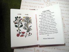 Artist book, .Quotation and illustration.Hand Bound, Coptic stitched, pocket gift, stocking stuffer,