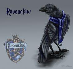 Day 9: Favorite Hogwarts House - Ravenclaw (by hecatehell.deviantart.com on @deviantART)