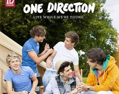 "One Direction devela arte del single ""Live While We're Young"""