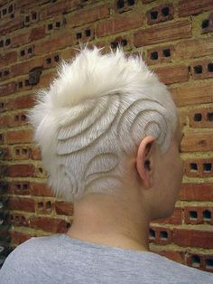 Clipper Hair Art! love this, never seen something like this