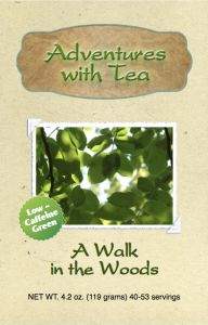Kaleidoscope of T.E.A. from Adventures with Tea - A Walk in the Woods