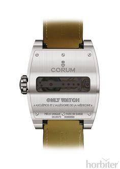 Corum Ti-Bridge for ONLY WATCH 2013 #luxurywatch #Corum-swiss Corum Swiss Watchmakers watches #horlogerie @calibrelondon