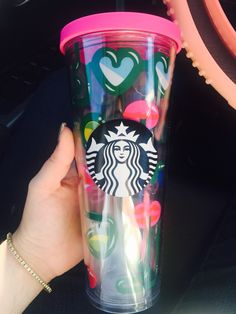 In LOVE with the latest addition to my Starbucks venti cold cup/tumbler. Summer 2016