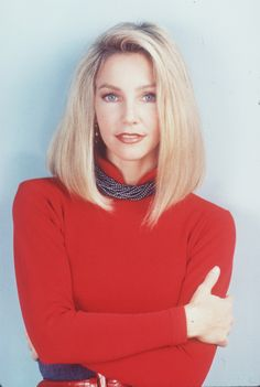 """Heather Locklear as Amanda Woodward in """"Melrose Place"""" (1992-1999) - Back when Monday night's were a bitch."""