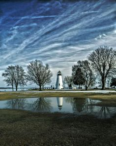 Painting of Concord Point #Lighthouse     http://dennisharper.lnf.com/