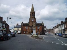 The picturesque town of Lochmaben