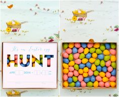 easter egg hunt invitations are my fave #yearofcelebrations