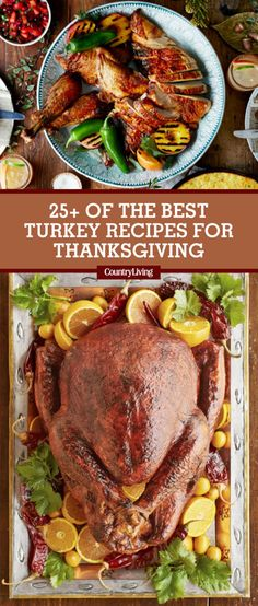 save these thanksgiving turkey recipes for later by pinning this image and follow country living