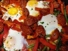 Flamenco Eggs - World Food Tour