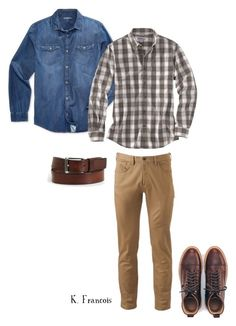 """""""Outfit7"""" by keeshafrancois on Polyvore featuring Calvin Klein Jeans, Dockers, Carhartt, men's fashion and menswear"""