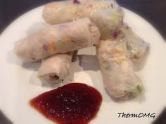Rice Paper Rolls. They are to die for!!