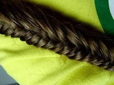 Super How To Do A Fishtail Braid Step By Step Bing Images Braids Hairstyle Inspiration Daily Dogsangcom