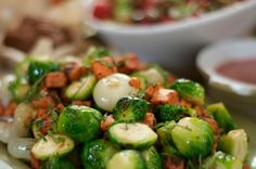 Thanksgiving Recipe: Butternut Squash, Brussels Sprouts, and Pearl Onions