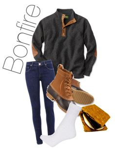 0e2f0d9b1b2b74 Bean Boots Outfit, Bonfire Outfit Fall, Fall Bonfire, Fall Winter Outfits,  Winter