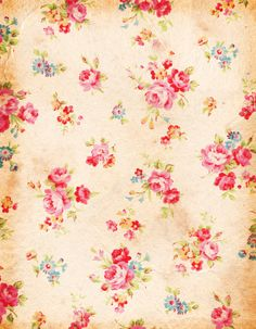 PAPIROLAS COLORIDAS: PAPELES SHABBY CHIC - LOADS of free pretty traditional vintage digi papers