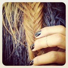 i love fishtail braids!