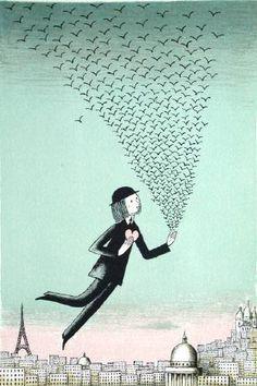 :: Sweet Illustrated Storytime :: Illustration by Peynet