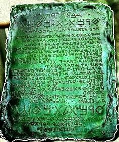 Emerald Tablets - A 38,000 Year Old Alchemist's Guidebook Shrouded in Mystery. article by Ramon Govea