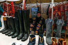 David Rushworth, boots by Timothy Dawson