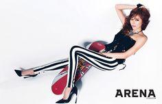 Son Dam-bi // Arena Homme Plus Korea // April 2013