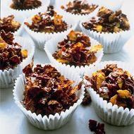 Chocolate cornflake cakes recipe