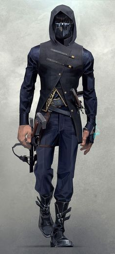 Corvo Attano from Dishonored 2, this would be an awesome cosplay to have!