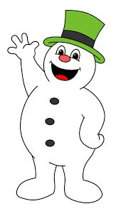Image result for cartoon pictures of christmas snowman