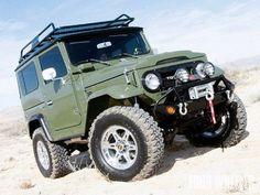 Toyota : Land Cruiser FJ40