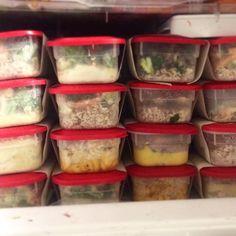 Como preparar e congelar 10 marmitas prontas para a semana economizando tempo e dinheiro. Instruções, dicas e lista de compras