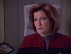 Day One: Favorite Captain. Captain Janeway is by far the best captain in my opinion.