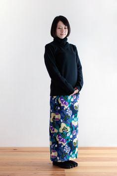 SOU・SOU着衣 衿巻ジバン(ウール・綿) - 衿にギャザーを入れ、ボリュームを出したインナー