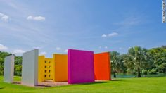"Monumental installations such as Hélio Oiticica's 1977 ""Magic Square #5"" are scattered across Inhotim, an impressive contemporary art compound tucked into the jungle of Brazil's Minas Gerais state."