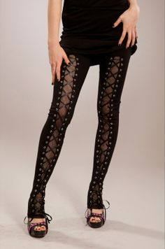 Heartless Arch Leggings :: VampireFreaks Store :: Gothic Clothing, Cyber-goth, punk, metal, alternative, rave, freak fashions