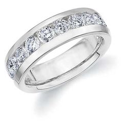 Platinum Men's #Diamond Ring