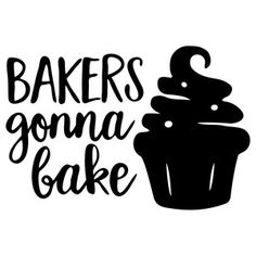 Silhouette Design Store: bakers gonna bake