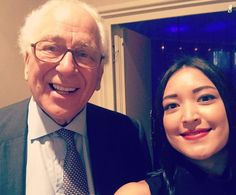 Sir Evelyn de Rothschild did work with the Malaysian government back in the 1970s. So of course I had to say hello! #WEOY