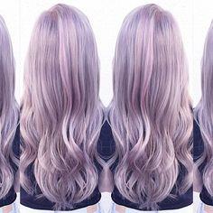 #kenracolor #purpehair #silverhair #btcpics #behindthechair #modernsalon #hairdressermagic #hairspiration #hotonbeauty #bangstyle #btconeshot #violethair #americansalon #kenra