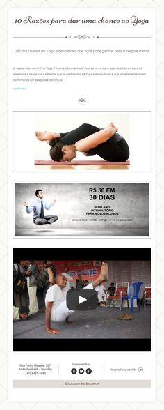 10 Razões para dar uma chance ao Yoga