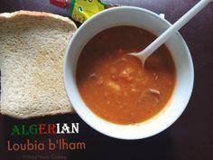 Halal Home Cooking: Loubia B'lham - White Bean & Lamb Stew
