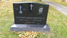 """Cliff Robertson (1923 - 2011) - American Actor. He had a film and television career that spanned half of a century. He won the 1968 Academy Award for Best Actor for his role in the movie Charly. His most recent film role was """"Uncle Ben Parker"""" in the Spider-Man film series. Cedar Lawn Cemetery  Cooper Lane East Hampton Suffolk County New York  USA"""