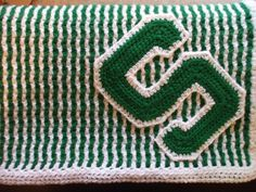 Michigan State  Baby Blanket by MadebytheBest on Etsy, $55.00