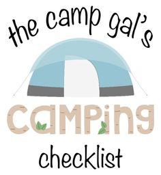 チェックリストをキャンプ!