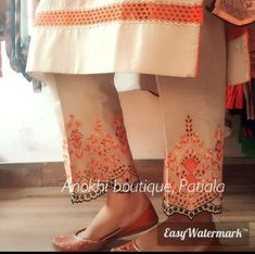 Casual Suit, Casual Work Outfits, Chic Outfits, Designer Punjabi Suits, Indian Designer Wear, New Style Suits, Suits For Women, Clothes For Women, Embroidery Boutique