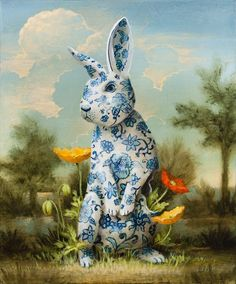 DELICATE GARDEN - THE HARE BY KEVIN SLOAN